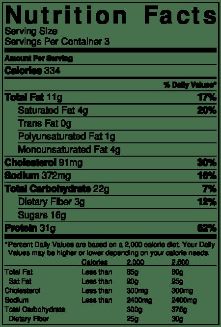 Solomillo con salsa de dátiles