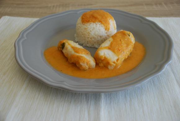 Pescado en salsa